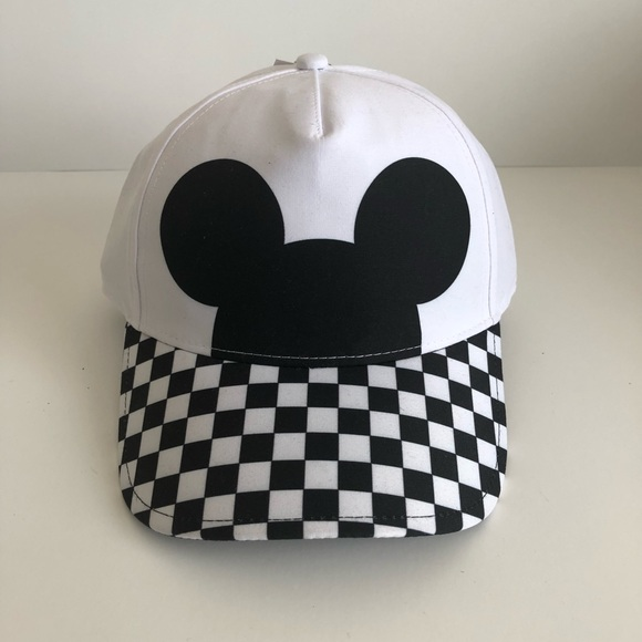 8e6c588a9d4 Vans Accessories | Mickey Mouse 90th Anniversary Checkered Hat ...